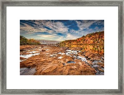 Hartwell Dam Framed Print