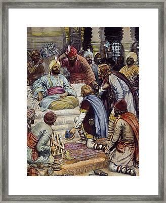 Harun Ar-rashid (763?-808) Framed Print