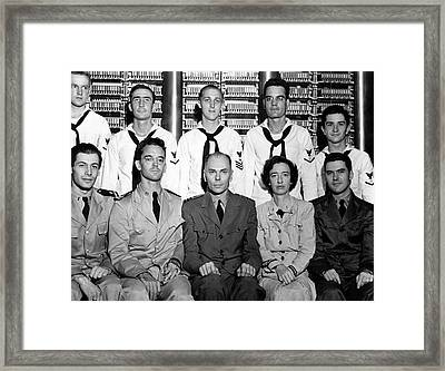 Harvard Mark 1 Computer Team Framed Print