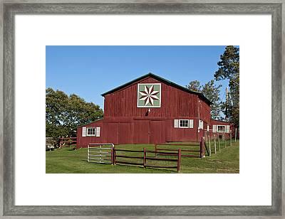 Harvest Barn Framed Print