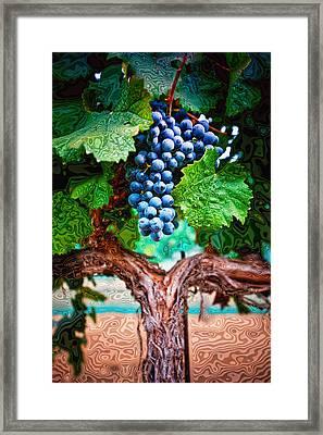 Harvest Details Framed Print by Kristine Ellison