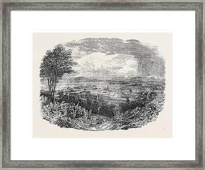 Harvest Home At The Philanthropic Societys Farm Framed Print
