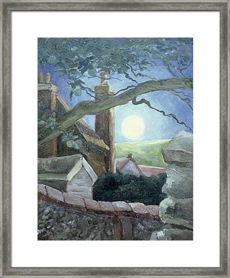 Harvest Moon Framed Print by Cristiana Angelini