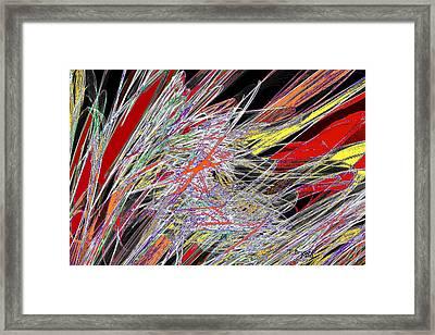 Harvest Of Colors Framed Print