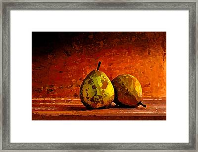 Harvest Pairs Framed Print by Cole Black