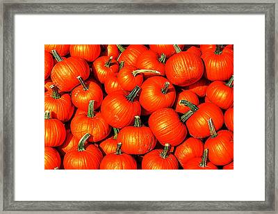 Harvest Party Framed Print by Benjamin Yeager