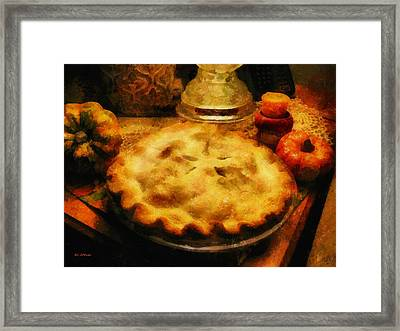 Harvest Table Framed Print by RC deWinter