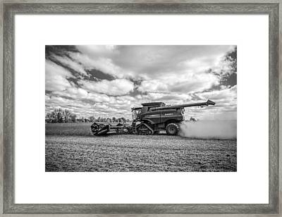 Harvest Time Framed Print by Dale Kincaid