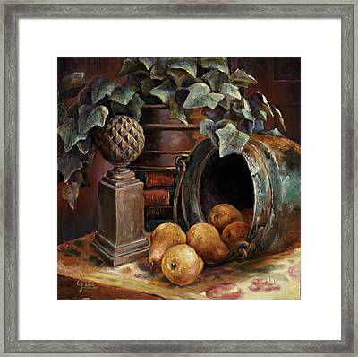 Harvest Time Framed Print by Gini Heywood