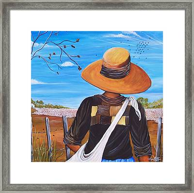 Harvest Time Framed Print by Sonja Griffin Evans