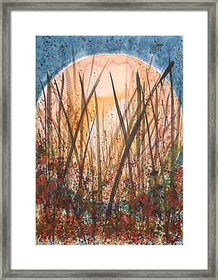 Harvest Womb Framed Print