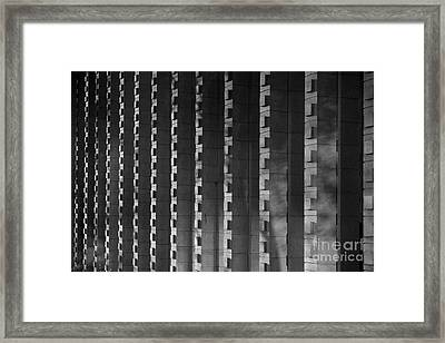 Harvey Mudd College Columns Framed Print