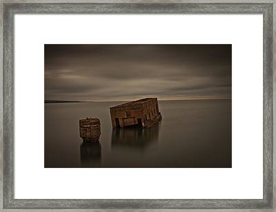 Harvey's Remains Framed Print by Michael Murphy