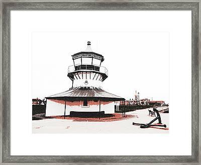 Harwich - Low Lighthouse Framed Print