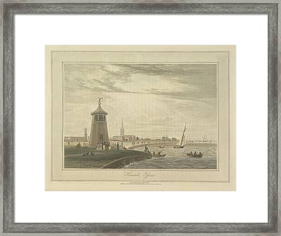 Harwich Framed Print by British Library