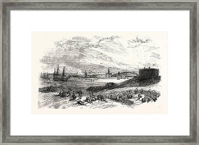 Harwich Harbour, Uk, Britain, British, Europe Framed Print