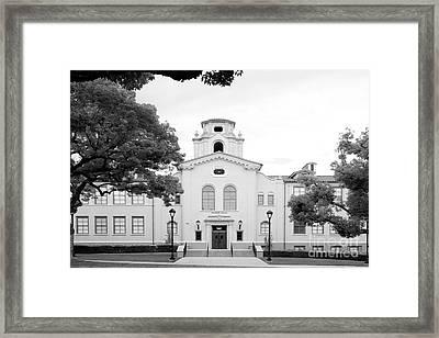 Pomona College Mason Hall Framed Print