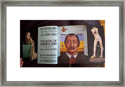 Harwood Museum Catalog Framed Print by Leah Saulnier The Painting Maniac
