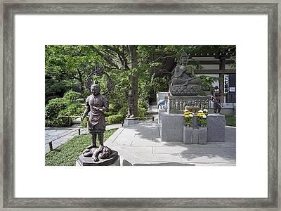 Hasedera Temple - Japan Framed Print by Daniel Hagerman
