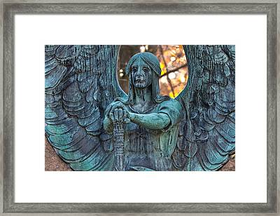 Haserot Angel Framed Print
