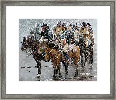 Hashknife Pony Express Framed Print
