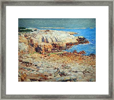 Hassam's A North East Headland Framed Print by Cora Wandel