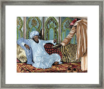 Hassan I (1836-1894 Framed Print