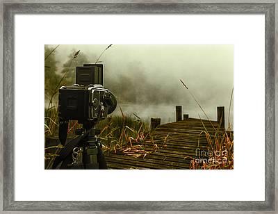 hasselblad on Loch ard Framed Print by John Farnan