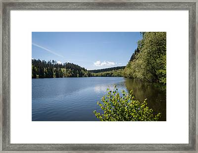 Hasselvorsperre Framed Print by Andreas Levi
