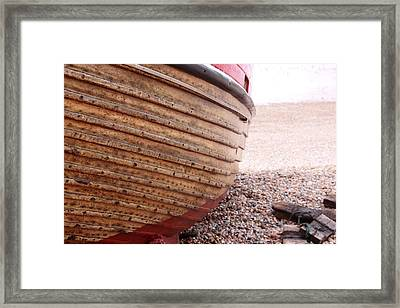 Hastings Clinkerboats Detail Framed Print