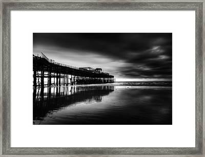 Hastings Pier Framed Print