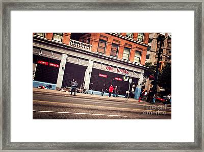 Hastings Street Framed Print by JR Photography