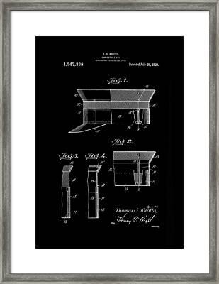 Hat Convertible 1920 Knotts Inverted Framed Print
