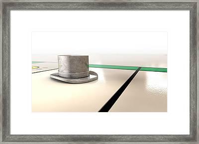 Hat Monopoly Framed Print by Allan Swart