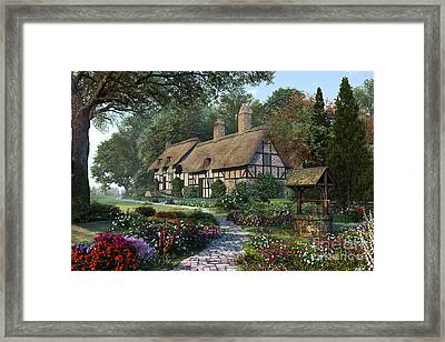 Hathaway Best Framed Print by Dominic Davison