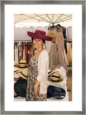 Hats Framed Print by Bob Phillips