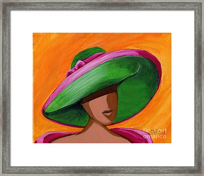 Hats For A Princess 2 Framed Print