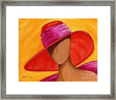 Hats For A Princess Framed Print