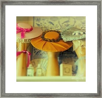 Hats For Sale Framed Print by Margie Hurwich