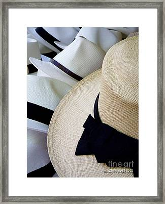 Hats Off To You Framed Print by Lainie Wrightson