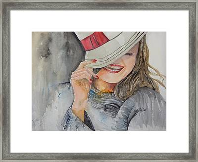 Hats Off To You Framed Print
