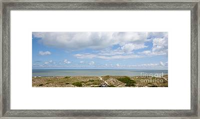 Hatteras Island View Framed Print by Kay Pickens