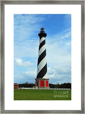 Hatteras Lighthouse Framed Print by Bob Sample