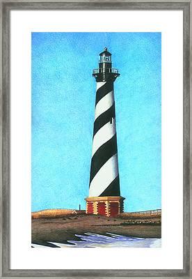 Hatteras Lighthouse Framed Print