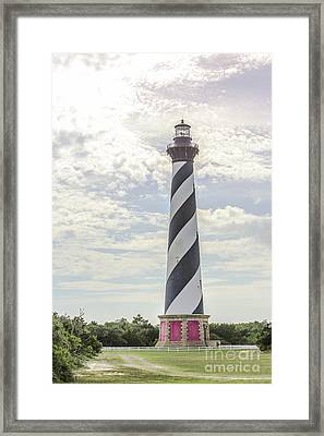 Hatteras Lighthouse Framed Print by Kay Pickens