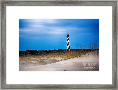 Hatteras Morning Light Framed Print