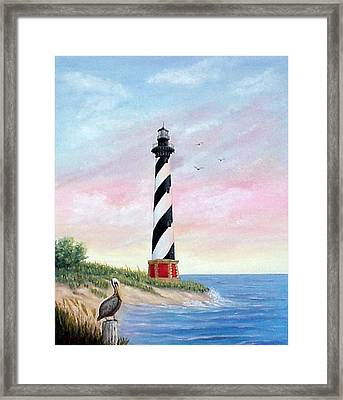 Hatteras Sunrise Framed Print