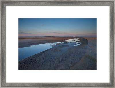 Hatteras Tidal Pools II Framed Print by Steven Ainsworth