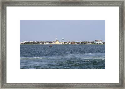 Hatteras Village Framed Print by Cathy Lindsey