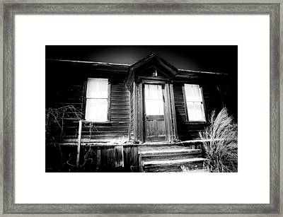 Haunted Framed Print by Cat Connor